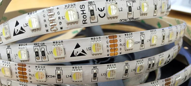 RGBW - светодиодная лента