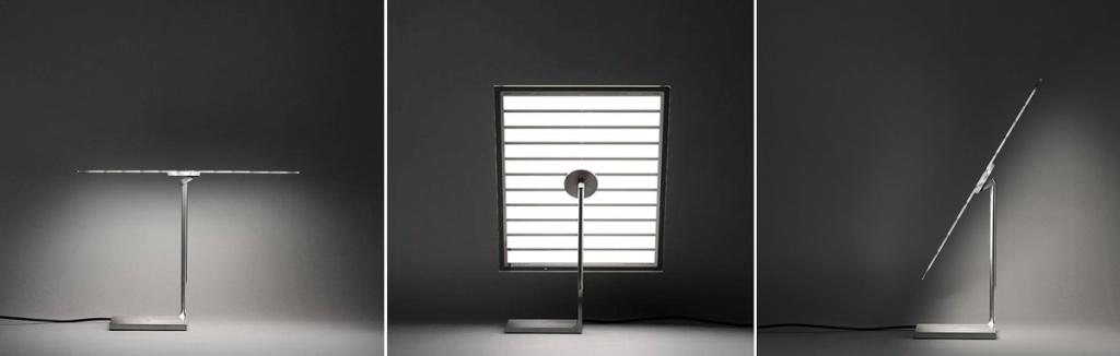 Настольный светильник с LED матрицей Photon от Flos
