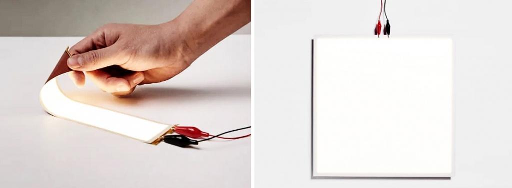 Световые OLED матрицы производства LG Chem