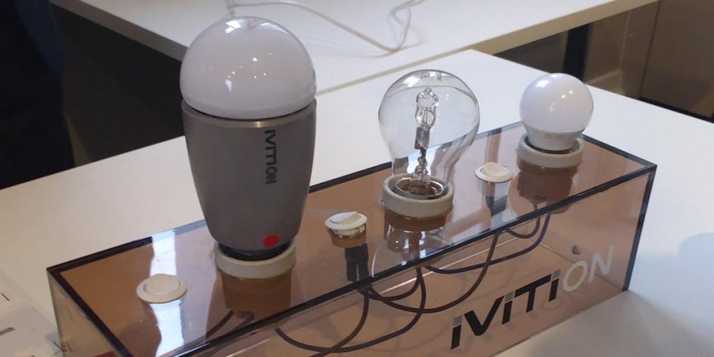 Аккумуляторная лампочка IVITI ON